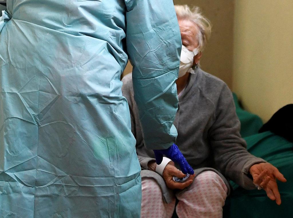 Day four of Italy's nationwide coronavirus lockdown, in Brescia